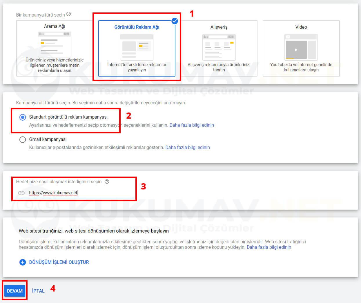 Google Ads Görüntülü Banner Kampanyası