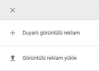 Google Banner Oluşturma