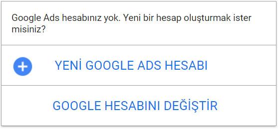 Yeni Google Hesabı Açma