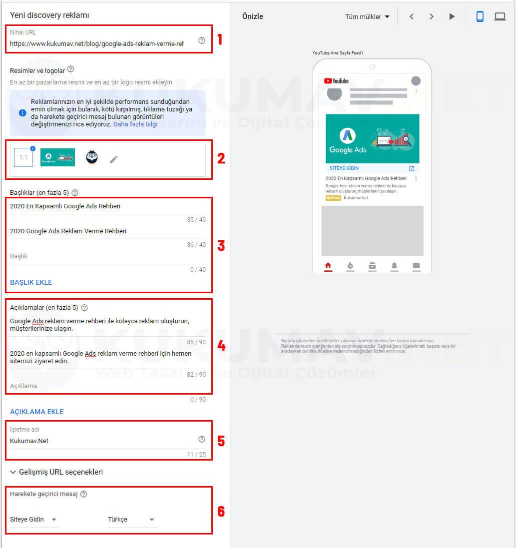 Google Discover Kampanya Görselleri