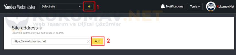 Yandex Webmaster nasıl eklenir